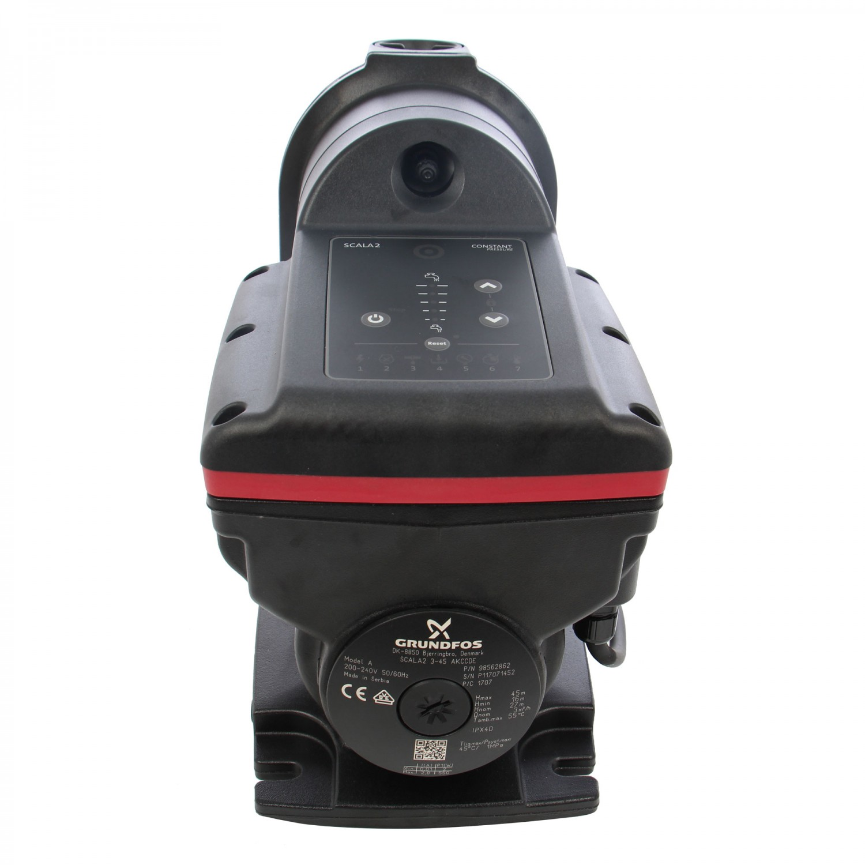 Hidrofor Grundfos Scala2 3-45, cu pompa + rezervor + motor + senzor + clapeta unisens, 550 W