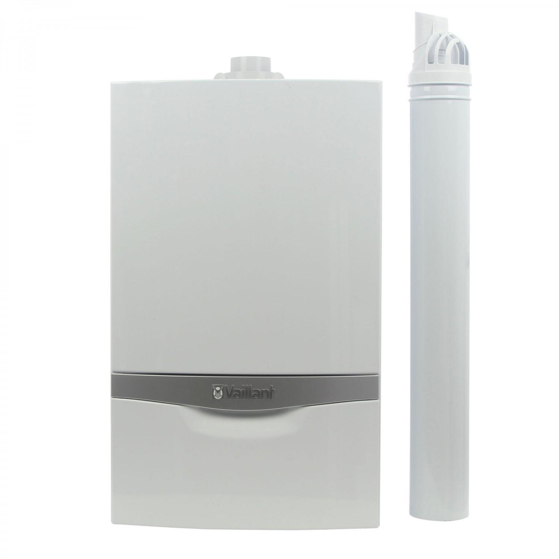 Centrala termica pe gaz, cu condensare, Vaillant ecoTEC Plus VUW 306/5-5, 25 kW + kit evacuare