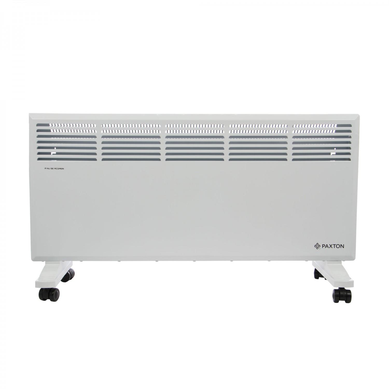 Convector electric Paxton S11-2500, 2 trepte, 2500 W, termostat supraincalzire