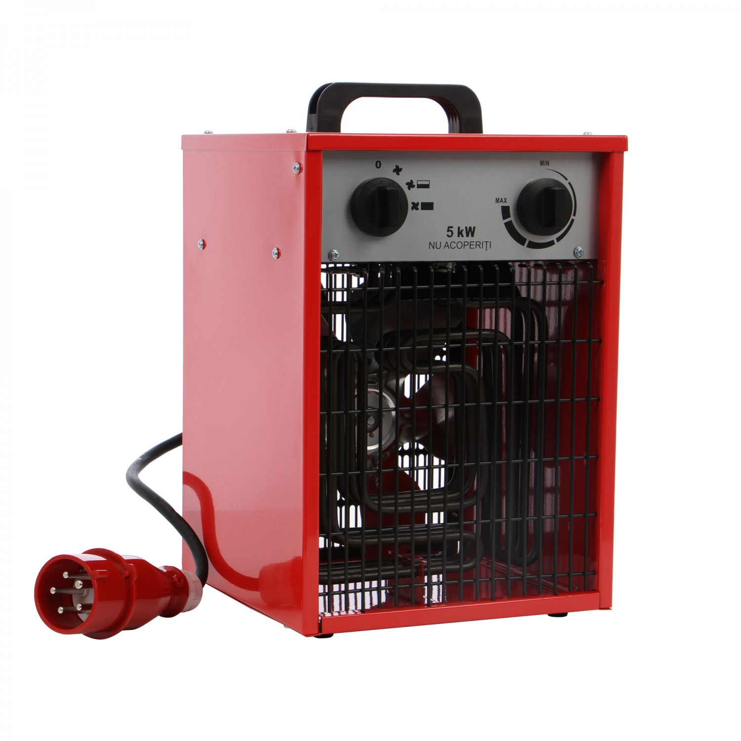 Aeroterma electrica Paxton EH5-380S, 5 kW, 380 - 400 V