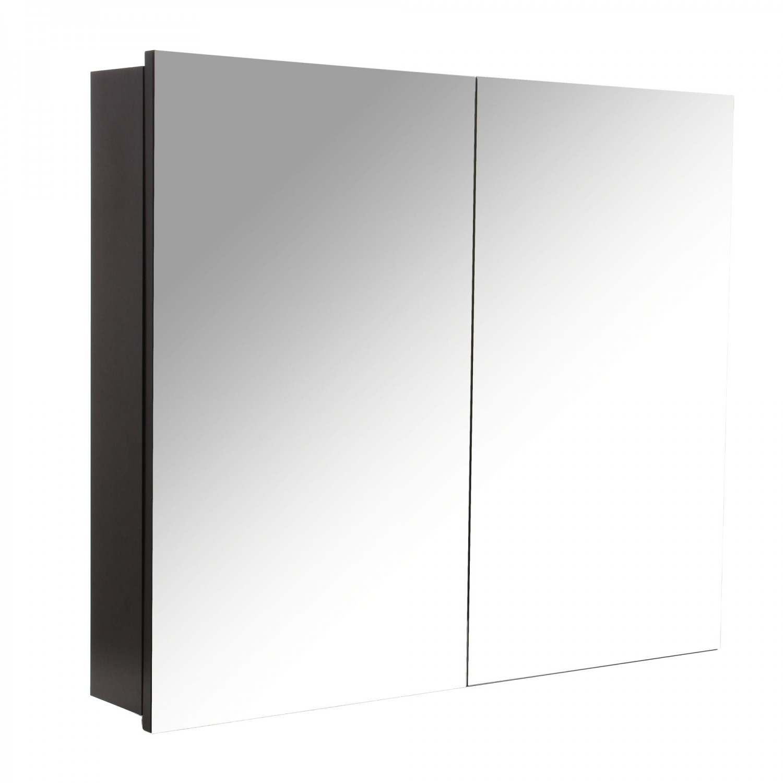 Dulap baie cu oglinda, 2 usi, Arthema Neo 378 W, wenge, 77 x 12.8 x 66.5 cm
