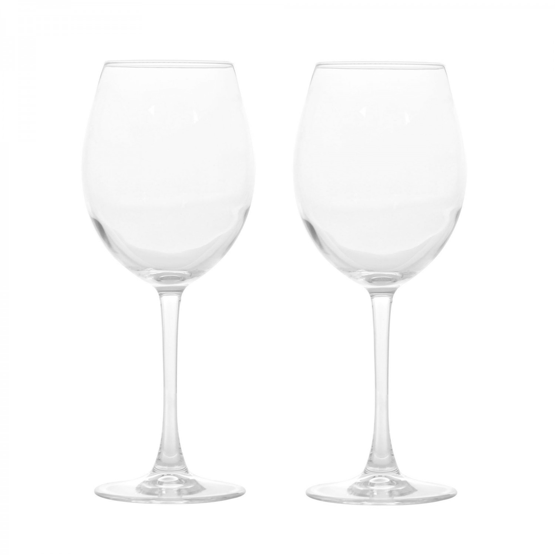 Pahar vin rosu, 44228, din sticla, 550 ml, set 2 bucati