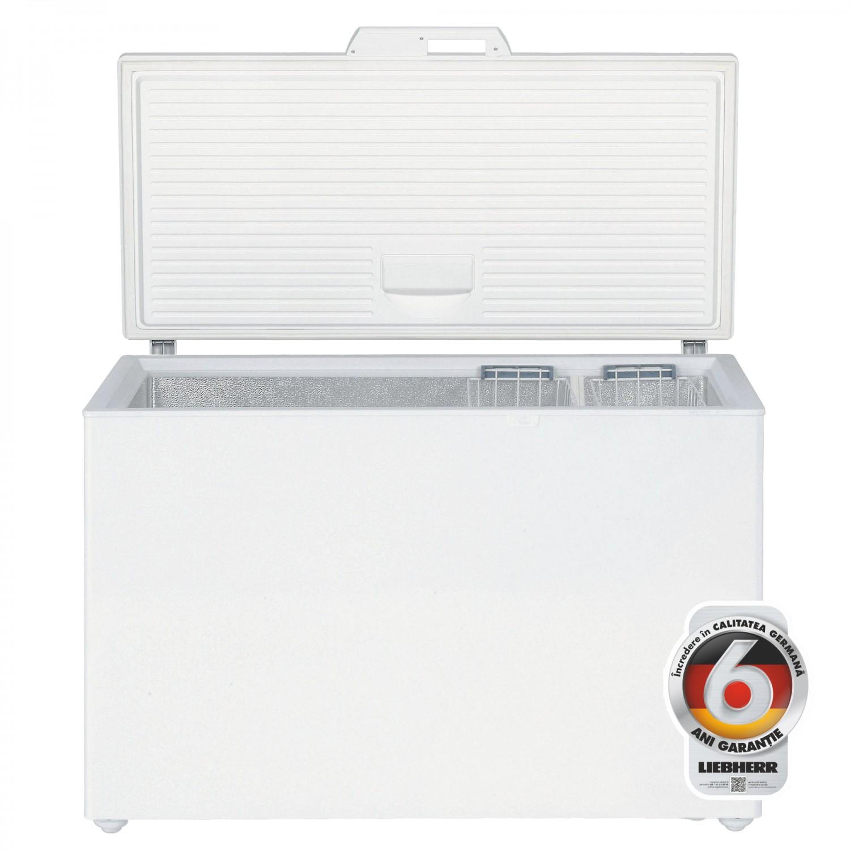 Lada frigorifica Liebherr GT 4232, 380 l, clasa A++, latime 128.5 cm, sistem StopFrost, alb