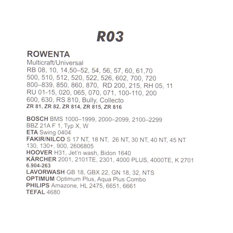 Saci aspirator Rowenta ZR814, hartie, pachet 3 bucati