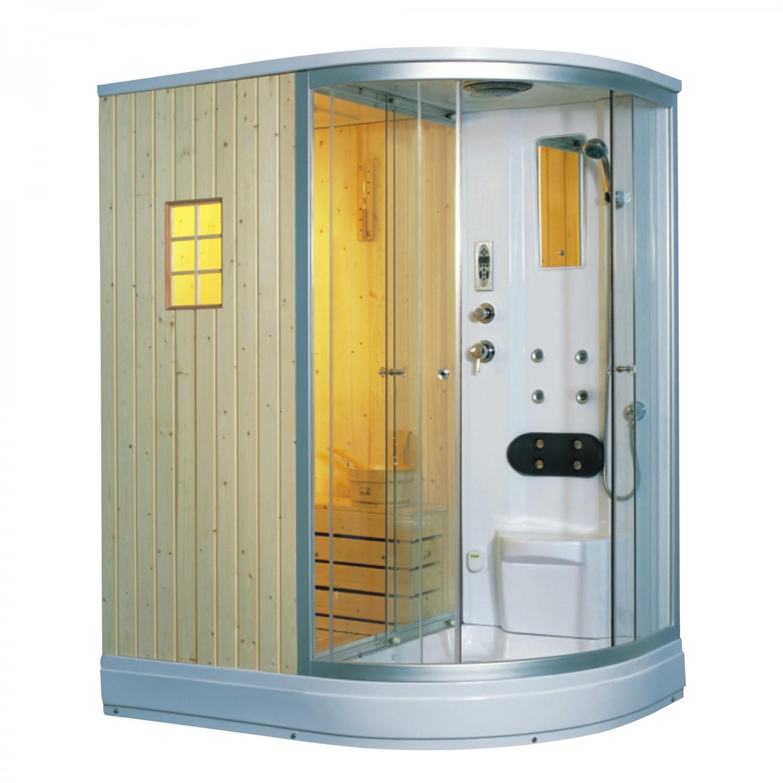 Dedeman cabina dus cu sauna ans 529 pe stanga 110 x 170 for Cabina sauna