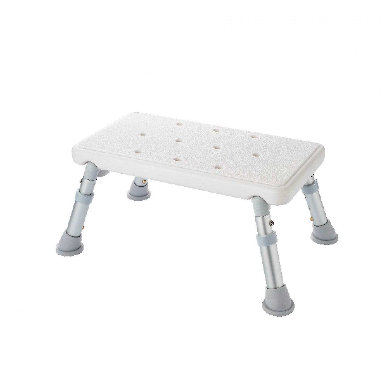 Scaun ajustabil pentru baie, Davo Pro Ridder A0102601, alb, 42 x 22.5 x 21 / 26 cm