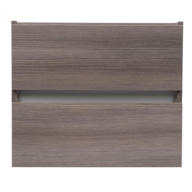 Masca baie pentru lavoar, Arthema Frame 60, cu sertare, rigoletto argintiu, montaj suspendat, 56 x 43.2 x 48 cm