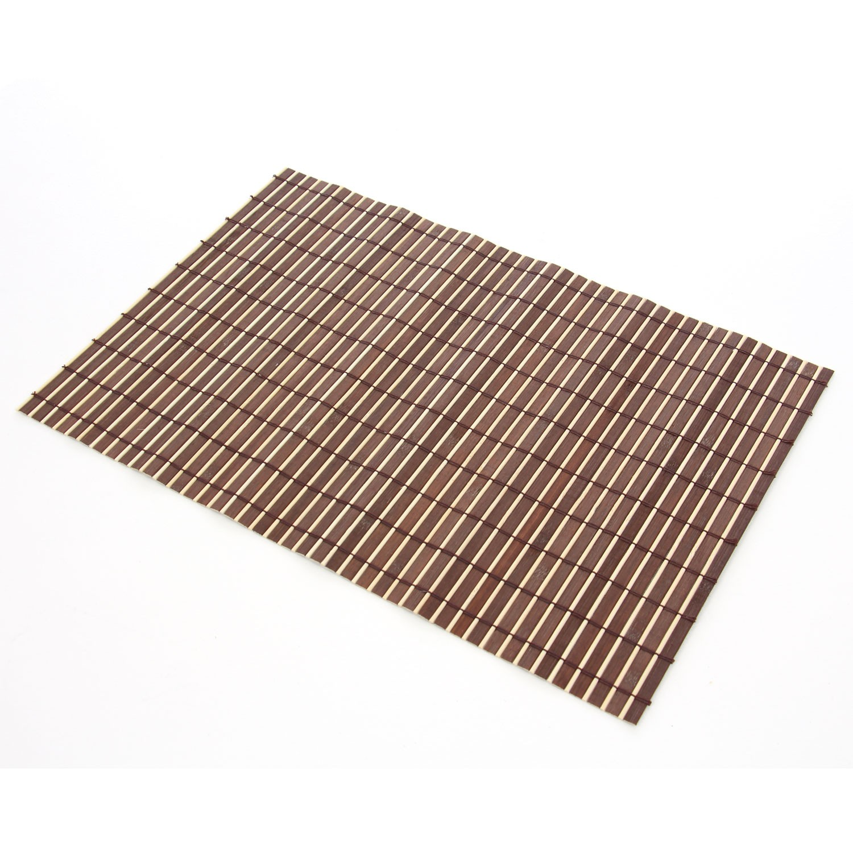 Suport bambus, BM02 Pow, bej + maro, 45 x 30 cm