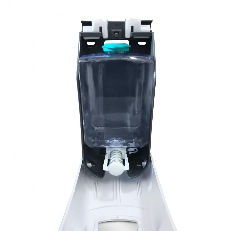 Dozator sapun lichid Limpio SD 1000S2, ABS, argintiu, montaj suspendat, 1000 ml