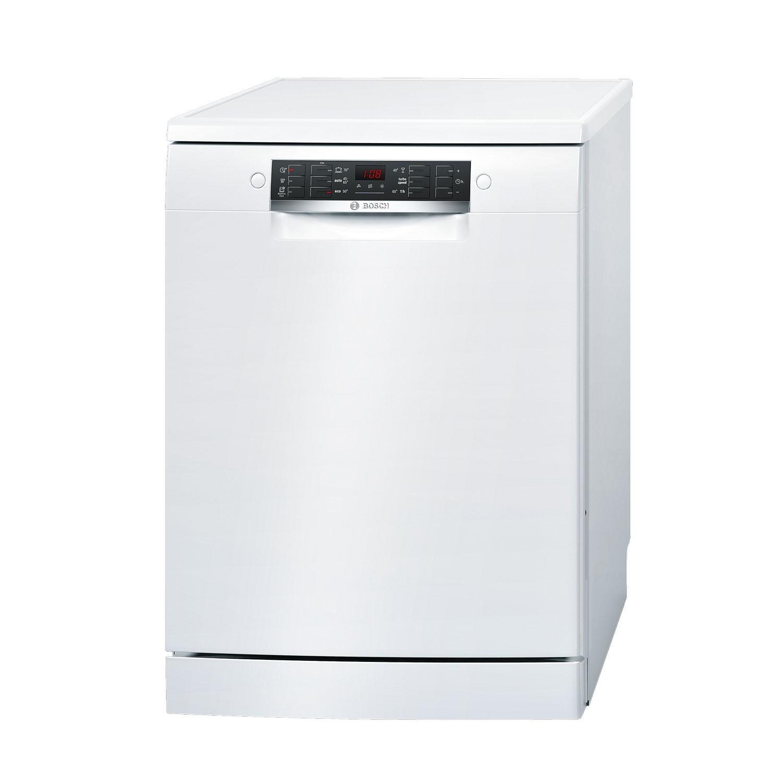 Masina de spalat vase Bosch SMS46KW00E, 13 seturi, clasa A++, 6 programe, latime 60 cm, alb