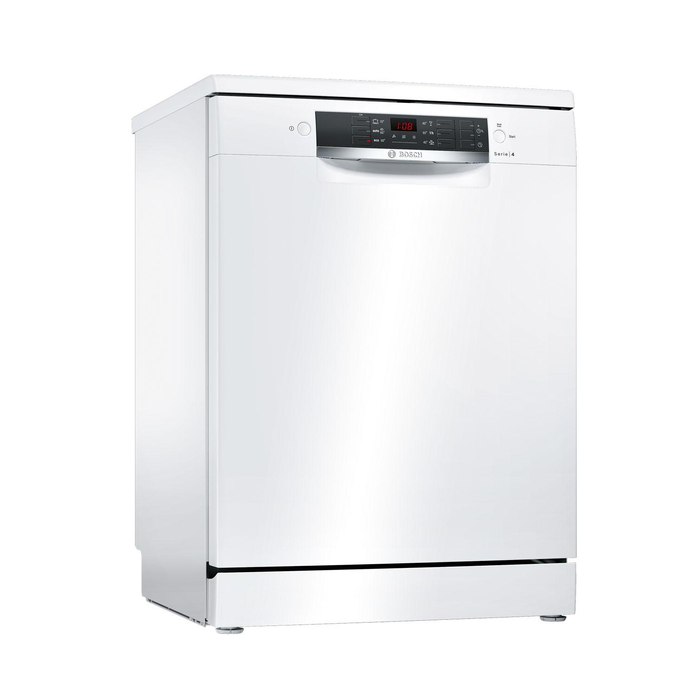 Masina de spalat vase Bosch SMS46AW00E, 12 seturi, clasa A+, 6 programe, latime 60 cm, alb