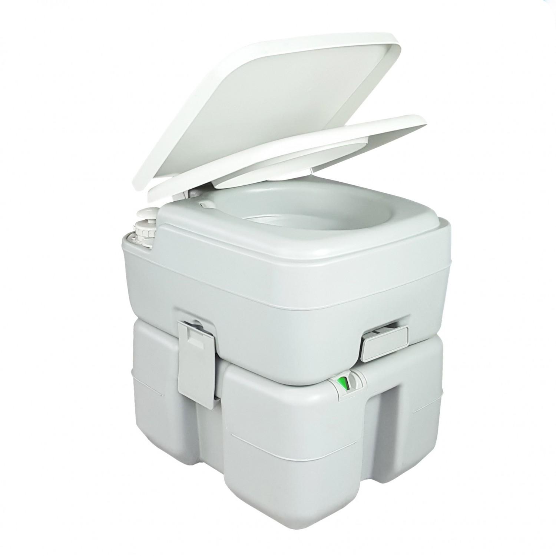 Toaleta ecologica portabila Kadda CHH-3320T, gri, 20 L