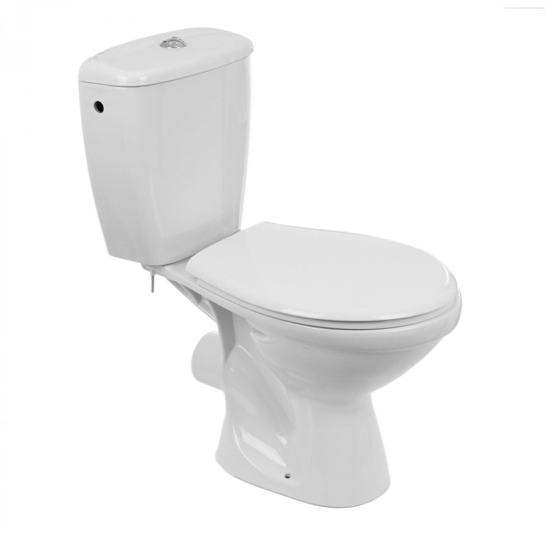 Set vas WC + rezervor + mecanism + capac Kolo Idol 19035000, din ceramica, 38 x 76.5 x 63 cm