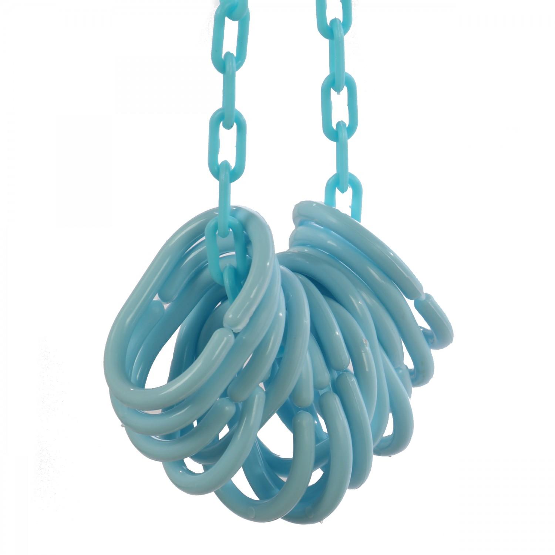 Bara perdea dus, aluminiu, BBP 004194, bleu, 90 x 90 x 90 cm