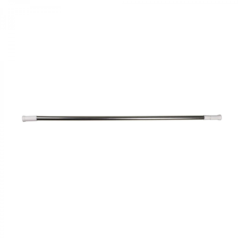 Bara perdea dus, telescopica / extensibila, otel, cromata, Kadda SW122A, 110 - 200 cm