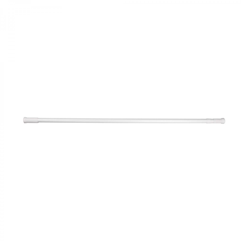 Bara perdea dus, telescopica / extensibila, aluminiu vopsit, alba, Kadda SW126A, 110 - 200 cm