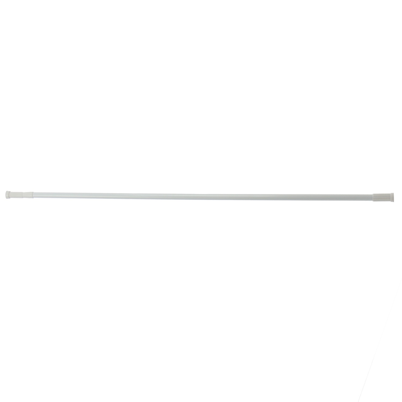 Bara perdea dus, telescopica / extensibila, aluminiu, alba, SW127A, 140 / 260 cm