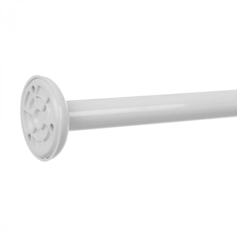 Bara perdea dus, aluminiu, alb, Kadda SW133C, 90 x 90 cm