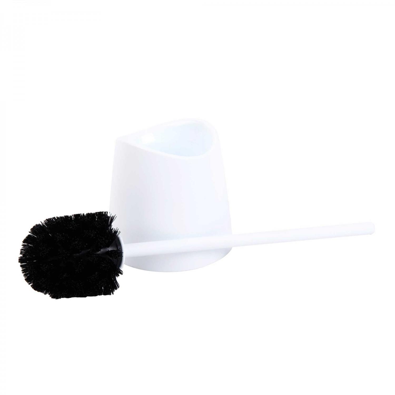 Perie WC 43071N, plastic, alb
