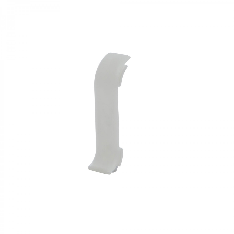 Element imbinare pentru plinta Vox Smart Flex 501 alb 55 x 22 mm 2 buc/set