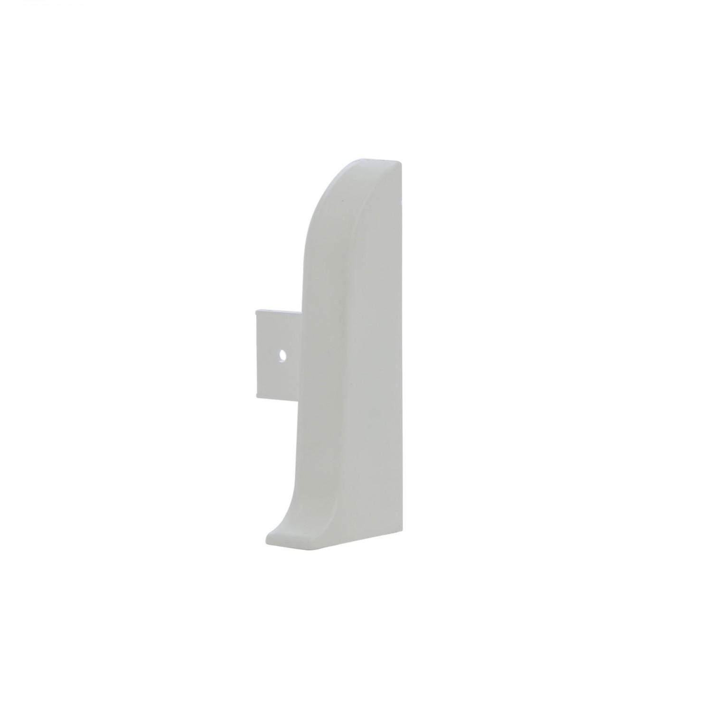 Terminatie pentru plinta, stanga / dreapta, VOX Smart Flex 501, PVC, alb, 55 x 22 mm, 4 buc / set