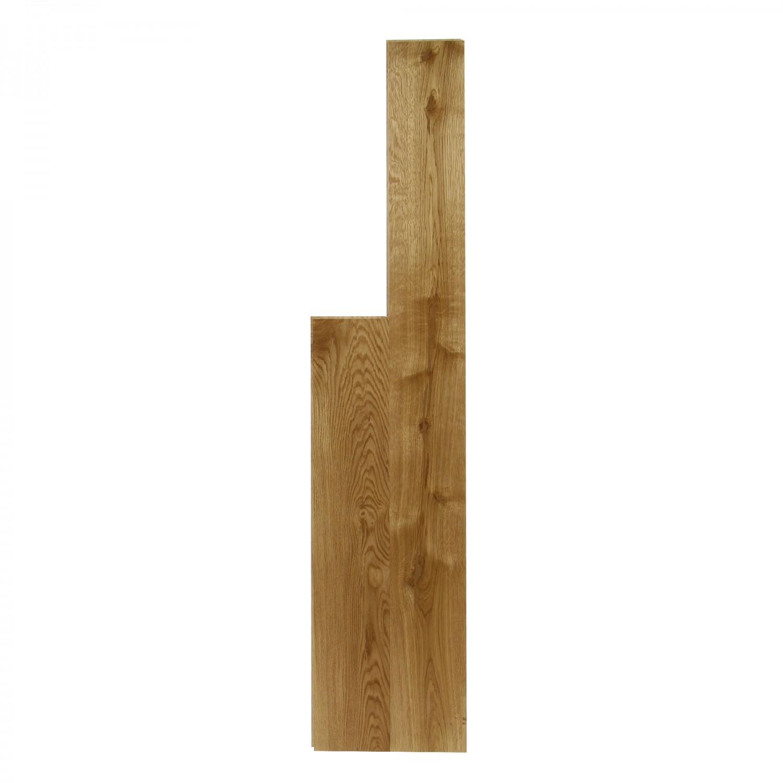 Parchet lemn masiv stejar natural Martplast, 19 x 128 x 400 (1200) mm