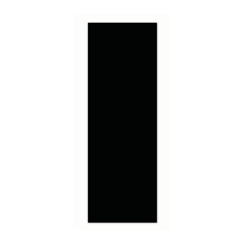 Faianta baie Glossy neagra lucioasa 10 x 30 cm