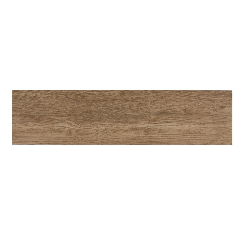 Gresie exterior / interior portelanata rectificata 9259 Olive maro, tip parchet, mata, 15 x 60 cm