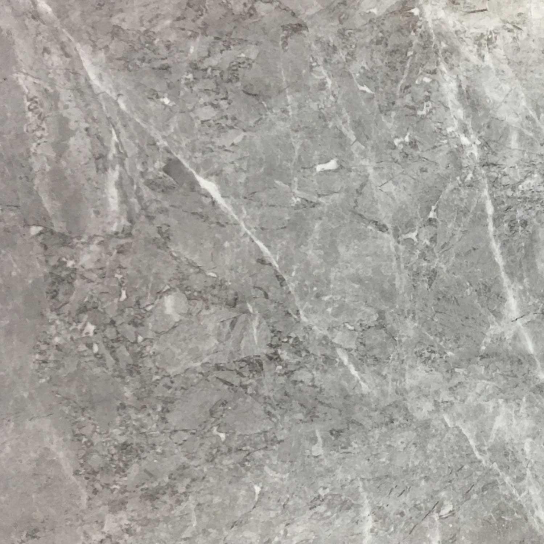 Gresie exterior / interior portelanata Camlica rectificata lucioasa gri 60 x 60 cm