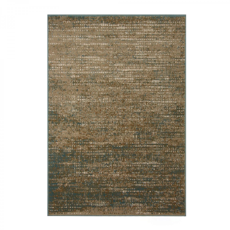 Covor living / dormitor Carpeta Delta 86981-41646 polipropilena heat-set dreptunghiular crem 60 x 110 cm