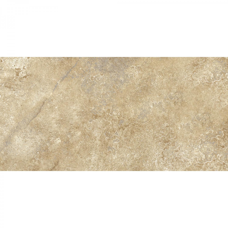 Gresie exterior / interior portelanata, Cesarom Caucaso 6060-0133, mata, bej,  30 x 60 cm