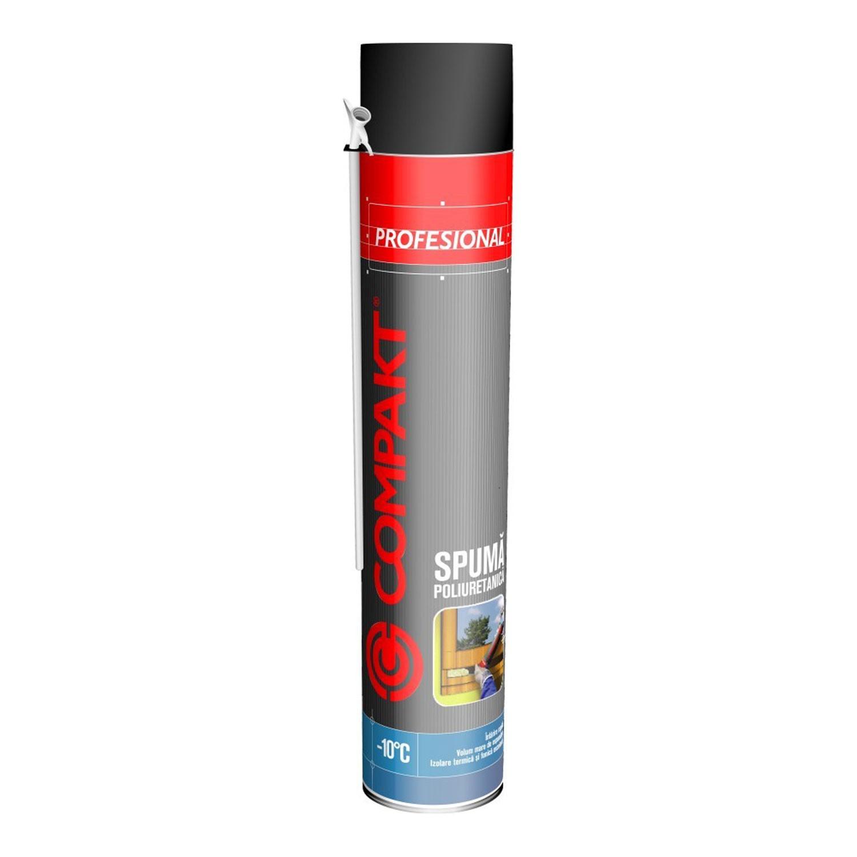 Spuma poliuretanica, cu aplicare manuala, varianta de iarna, Compakt, 700 ml