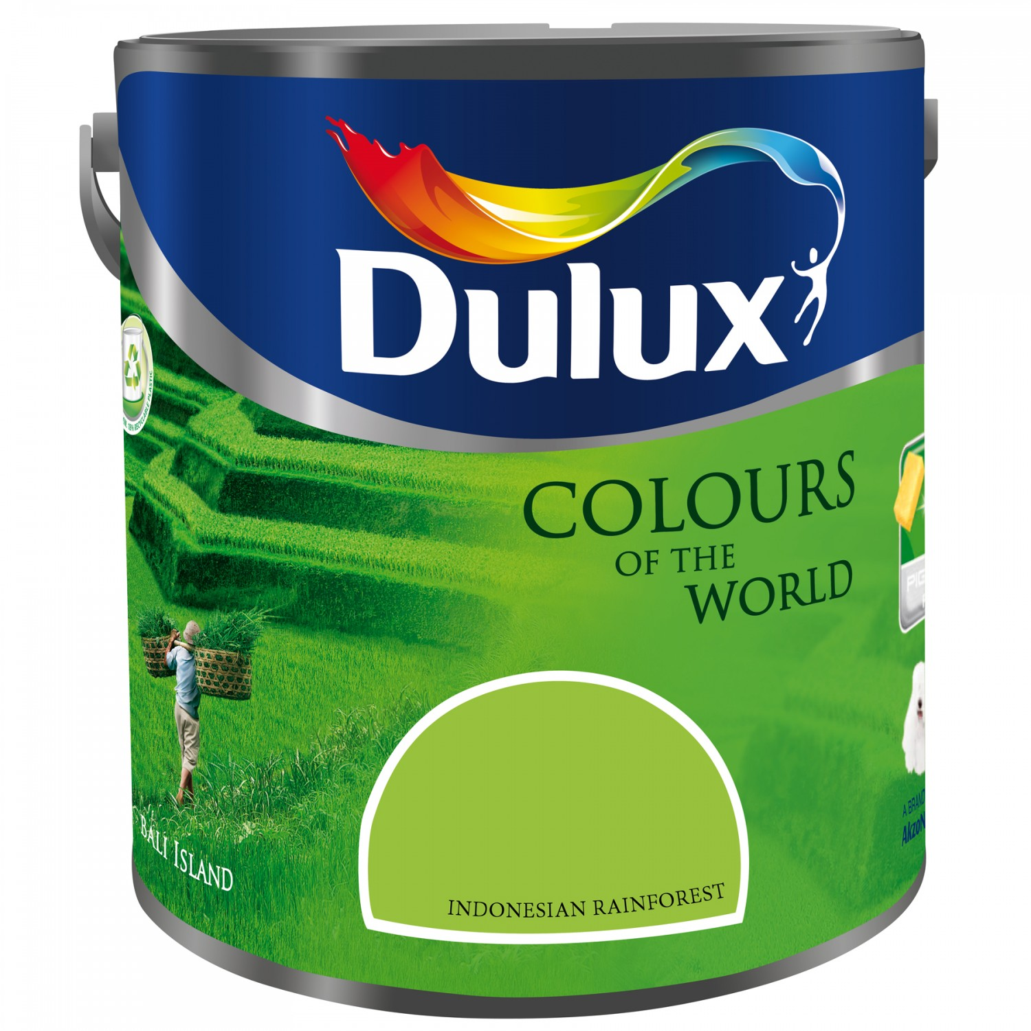 Vopsea latex interior, Dulux, indonesian rainforest, 5 L