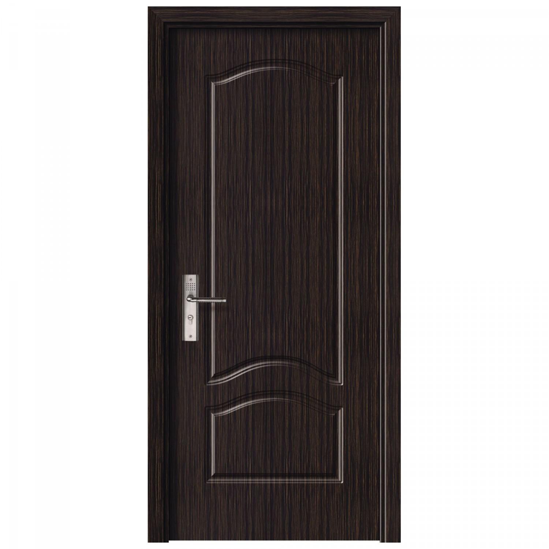 Usa de interior din lemn, SuperDoor F04-78-T, stanga / dreapta, wenge, 203 x 78 cm