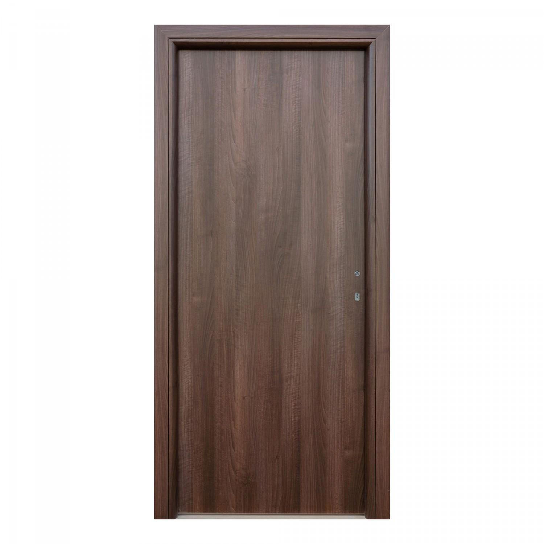 Usa interior celulara, Eco Euro Doors R80, stanga, nuc, 202 x 76 x 4 cm cu toc