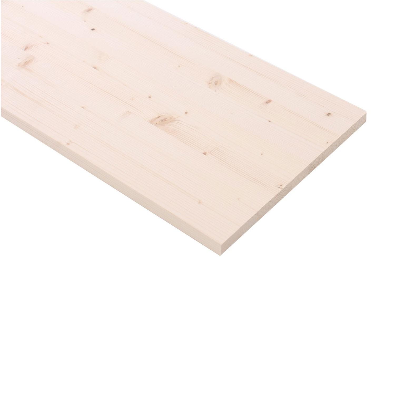 Panou lemn molid A, 1200 x 500 x 28 mm