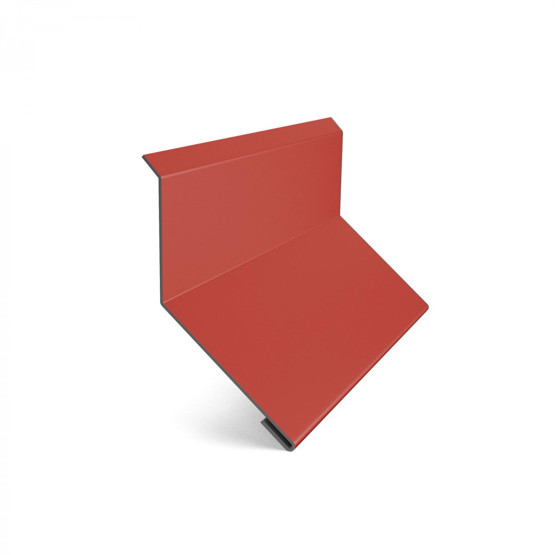 Bordura la perete Baudeman rosu aprins (RAL 3000) 0.45 mm