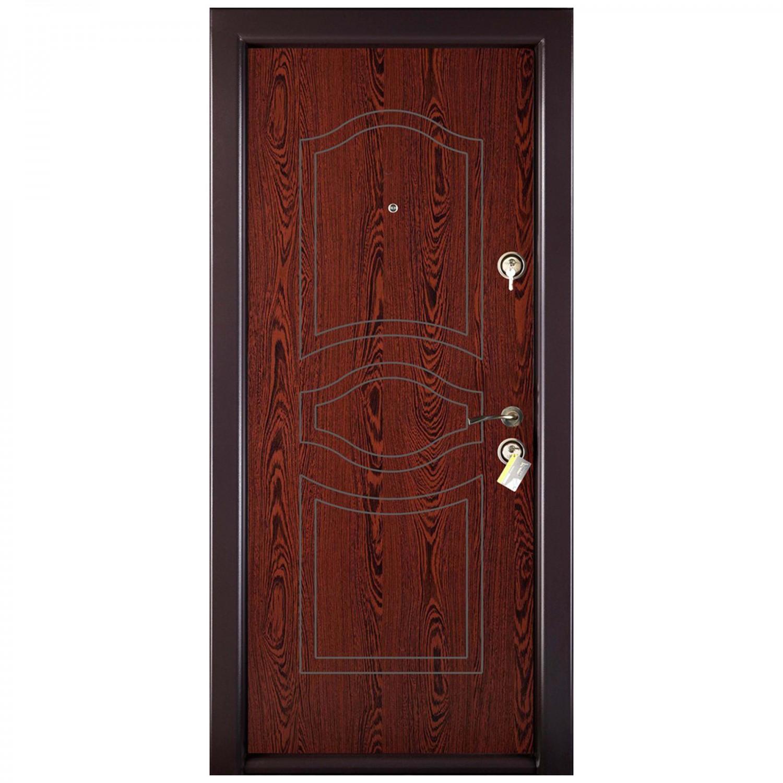 Usa interior metalica Prestige 1 lux 56, stanga, wenge, 200 x 88 cm