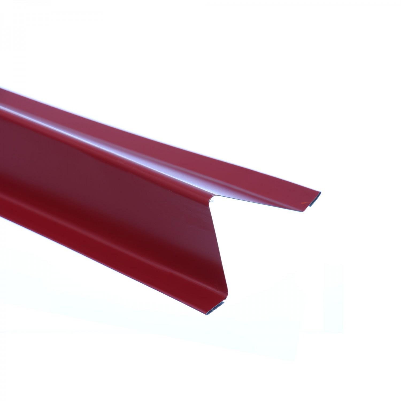 Opritor de zapada Bilman, rosu lucios (RAL 3011), 2000 x 0,4 mm