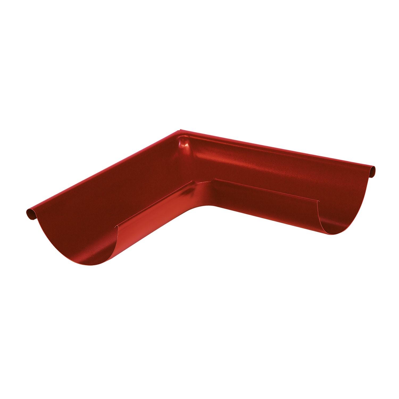 Coltar metalic interior Bilka, 90 grade, rosu lucios (RAL 3011), 125 mm