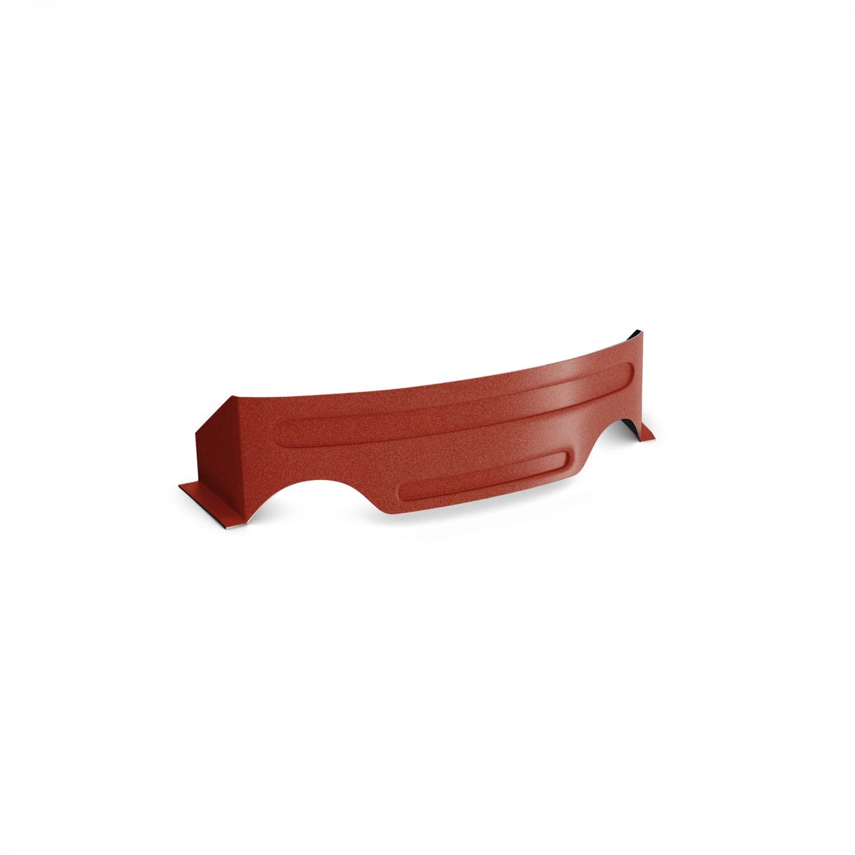 Opritor de zapada Bilka Omega, rosu inchis mat (RAL 3009), 0,45 mm