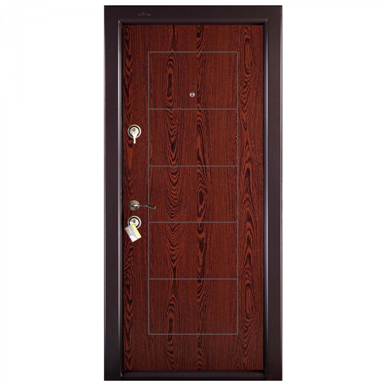 Usa interior metalica Prestige 1 lux 131, dreapta, wenge, 200 x 88 cm