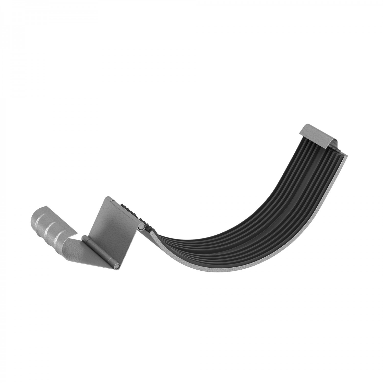 Element de imbinare jgheab Baudeman, aluzinc, 125 x 1mm