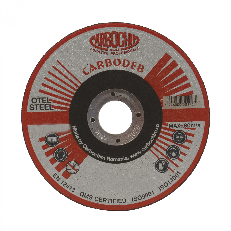Disc debitare otel, Carbochim 11ABACH1TRS, 180 x 22.2 x 2 mm