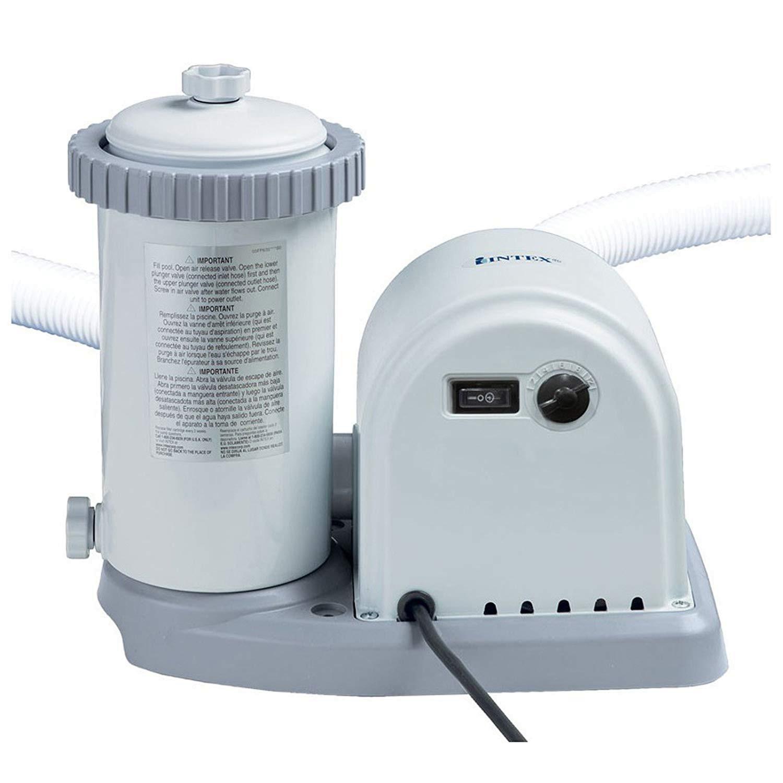 Pompa filtrare apa piscina, Intex 56636, 5678 l apa/h