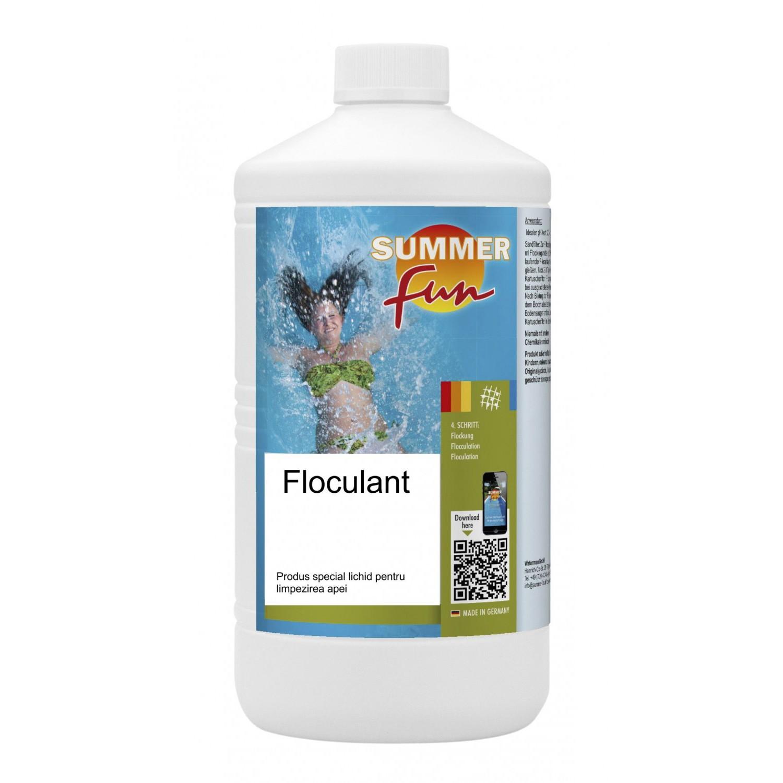 Floculant lichid pentru piscina Summer Fun, 1L