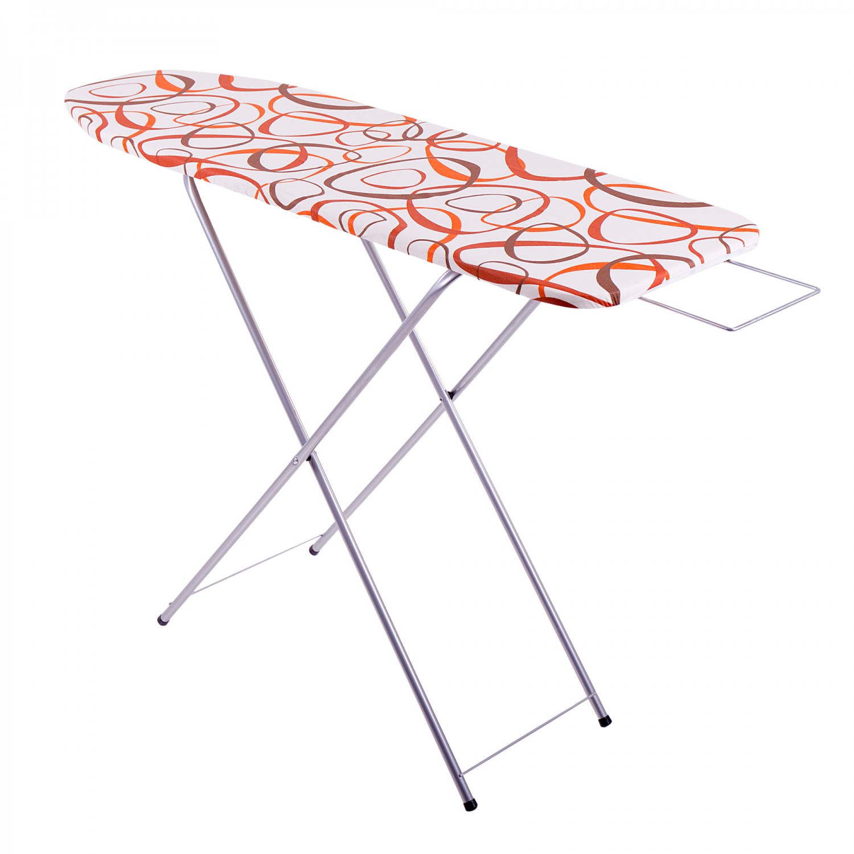 Masa de calcat Ok Plus, structura metalica, husa bumbac, 120 x 38 x 90 cm