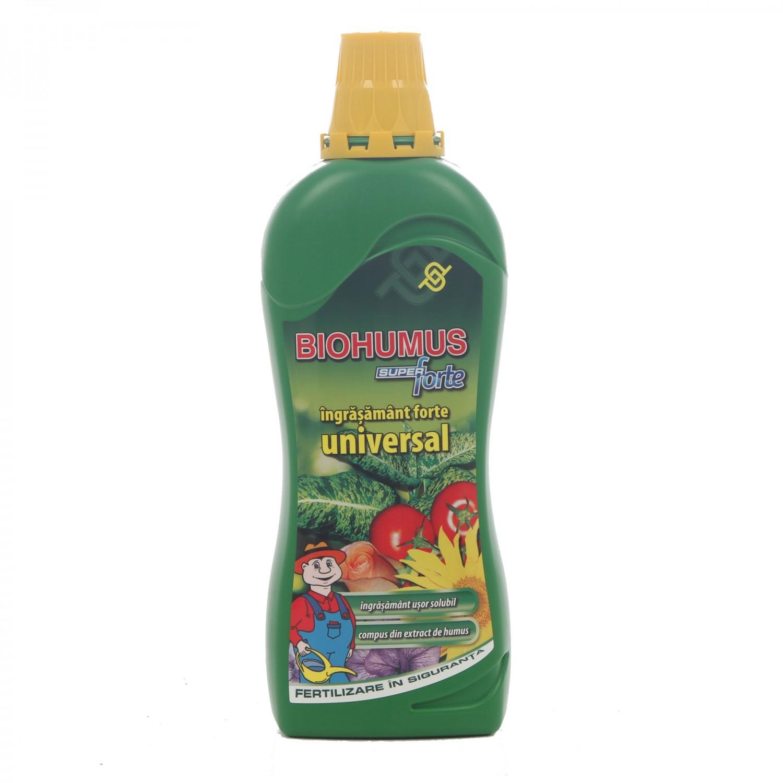 Ingrasamant universal Biohumus mineral, lichid, 750 ml