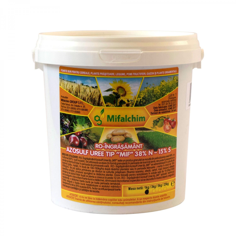 Ingrasamant universal Azosulf Uree MIF, granule, 1 kg