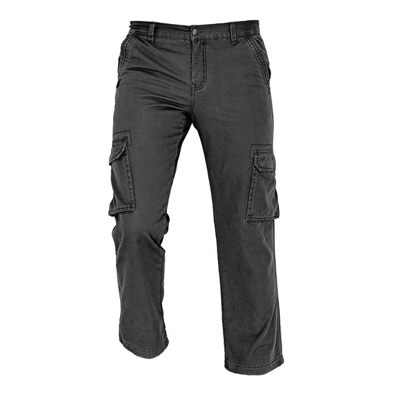 Pantaloni pentru protectie Rahan termoizolanti, bumbac, negru, marimea M